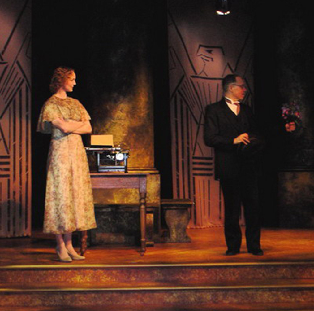 Vern Thiessen's Einstein's Gift, Winnipeg Jewish Theatre, 2006
