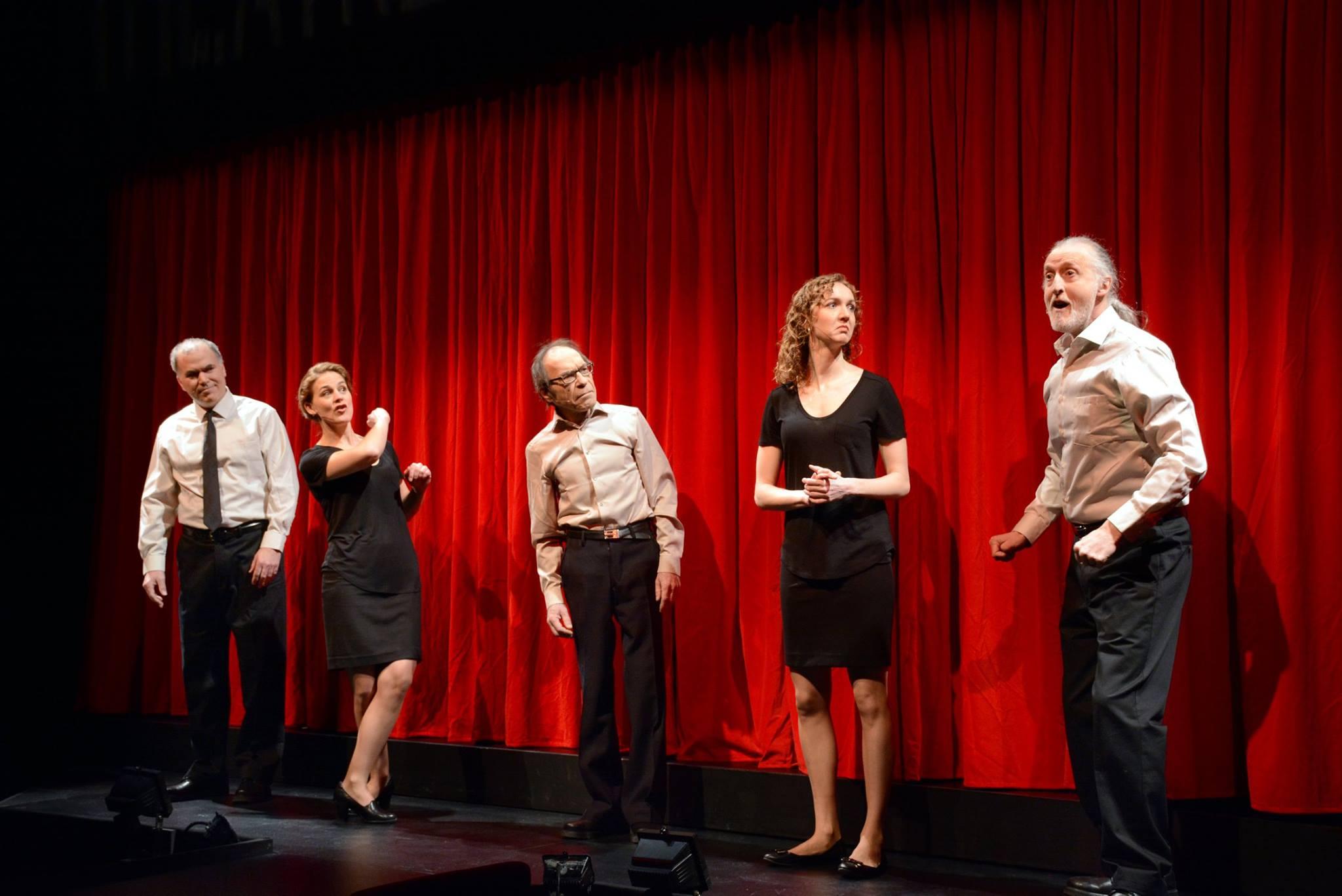 Théâtre sans animaux au Théâtre Cercle Molière, 2015.  Photo : Hubert Pantel
