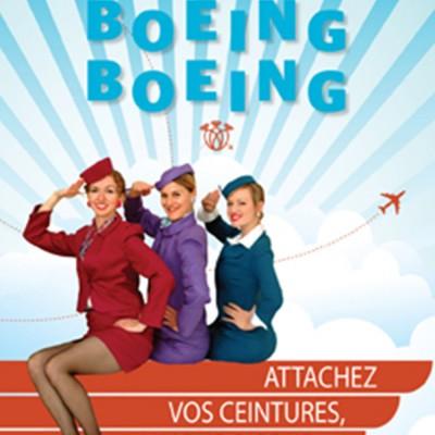 Affiche Boeing Boeing, Le Cercle Molière 2011.  Photo : Hubert Pantel