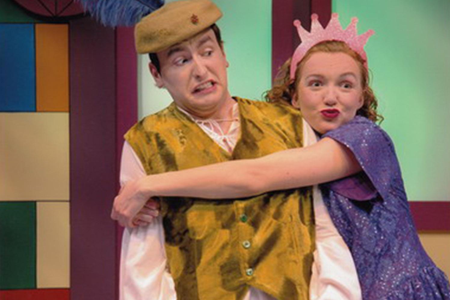 Il était une deuxième fois de Laura Lussier et Bobby Robidoux, Le Théâtre du Grand Cercle du Cercle Molière, 2009 Photo : Hubert Pantel