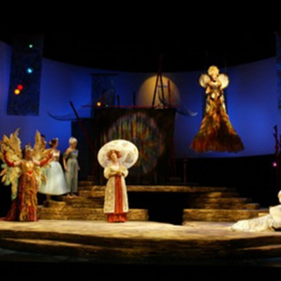 The Tempest de Shakespeare, Manitoba Theatre Centre, 2006 Photo: Odyssey Photography